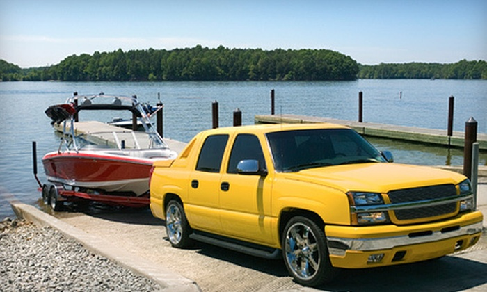 Adesa RV & Boat Storage - North Industrial: $110 for Four Months of RV, Boat, or Vehicle Storage at Adesa RV & Boat Storage ($220 Value)