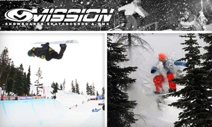 Mission Snow and Skate - Aspen Woods: $25 for a Snowboard Tune-Up at Mission Snow and Skate