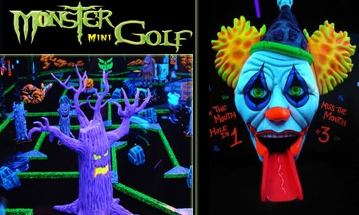 Monster Mini Golf - Monroeville: $15 for Four Ghoul-Infused Rounds of Monster Mini Golf (Up to $30 Value)