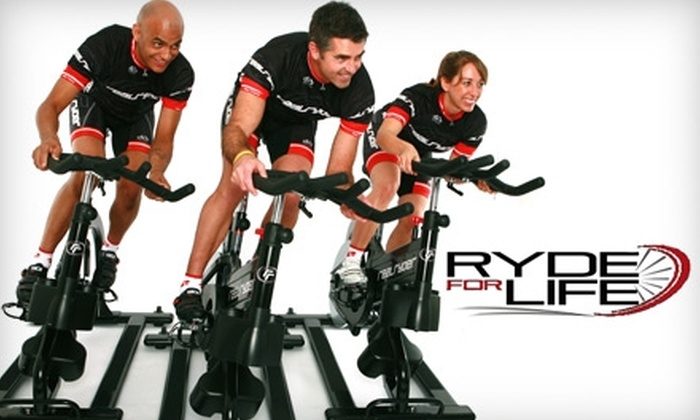 Ryde For Life - Tampa Bay Area: $45 for 10 Cycling Classes at Ryde For Life ($125 Value)