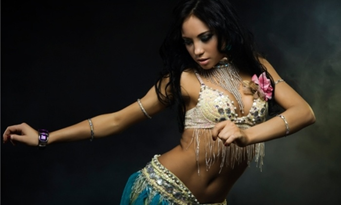 World of Dances - Cuyahoga Falls: $20 for Four Belly-Dance or Zumba Classes at World of Dances