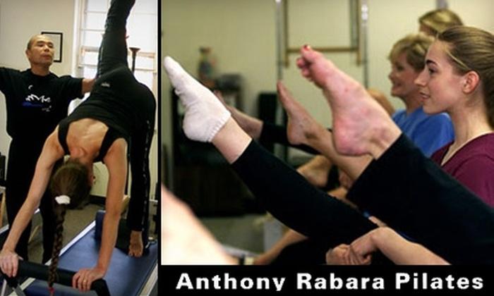 Anthony Rabara Studio for Pilates - Montgomery: $75 for 10 Mat Classes at Anthony Rabara Studio for Pilates of Princeton