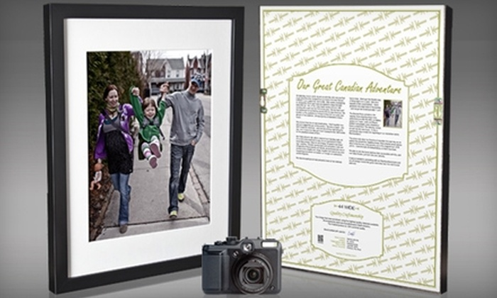 44 Wide: $74 for Camera-to-Frame Package from 44 Wide ($280 Value)