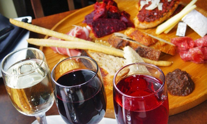 Globe Cafe & Tapas Bar - Multiple Locations: Dinner for Two or Four with Tapas and Wine at Globe Cafe & Tapas Bar (Up to 61% Off)