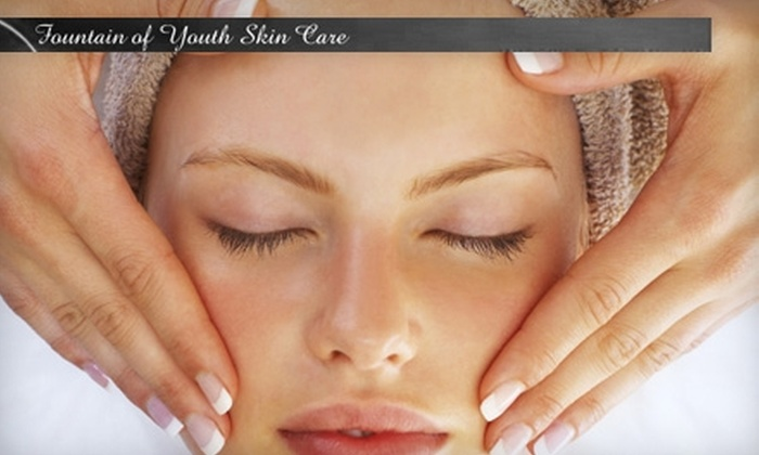 Fountain of Youth Skin Care - Powers: $25 for Your Choice of One of Three Chemical Peels or a Microdermabrasion Treatment at Fountain of Youth Skin Care ($55 value)