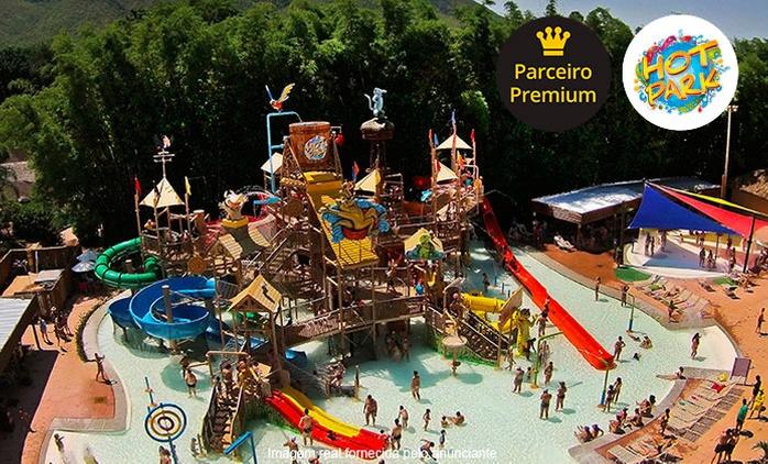Rio Quente/GO: Passaporte para o Hot Park: até 3 days use para crianças e adultos