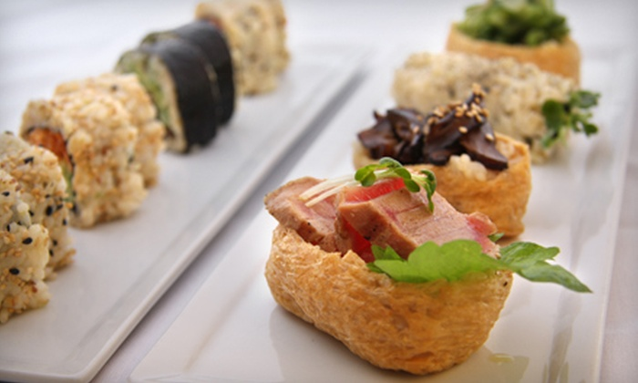 M Café de Chaya - Multiple Locations: $10 for $20 Worth of Contemporary Macrobiotic Cuisine for Dinner at M Café de Chaya