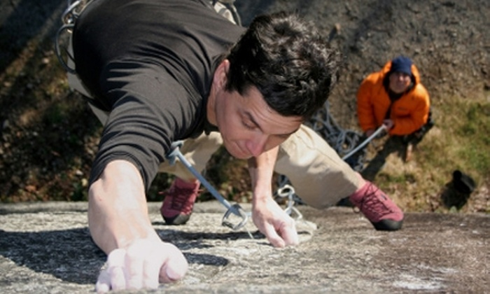 Adventure Out - Castle Rock State Park: $44 for a Four-Hour Rock-Climbing Course and Guided Outdoor Climb from Adventure Out ($90 Value)