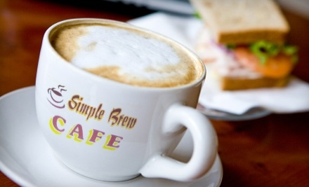 Simple Brew Cafe: $100 Groupon for Catering - Simple Brew Cafe in Greenwood