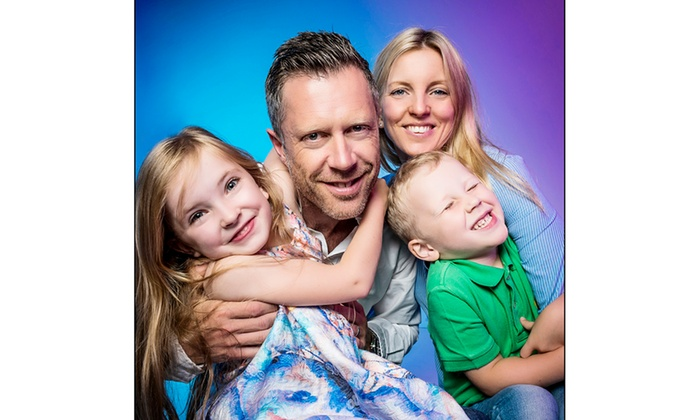 Catchlight Portraits - Bury: Family Portrait Photoshoot with Two Framed Prints at Catchlight Portraits (52% Off)
