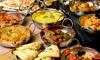Pakistanisches Mittagsmenü