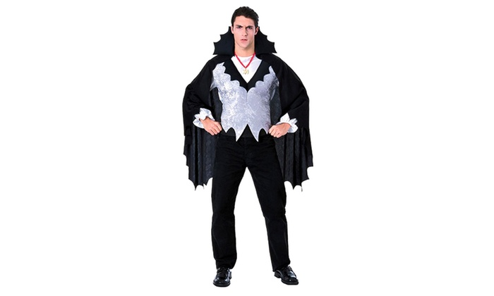 81% Off on Mens' Vampire Halloween Costume | Groupon Goods