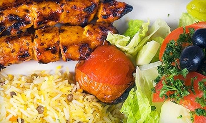 Boca Skewers - Kings Court: $10 for $20 Worth of Mediterranean Cuisine and Drinks at Boca Skewers in Boca Raton