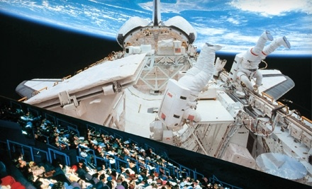 MOSI's IMAX Dome Theatre: One Adult-Admission, Plus a Large Popcorn and One Bottled Drink or Vodka Cocktail - Museum of Science and Industrys IMAX Dome Theatre in Tampa