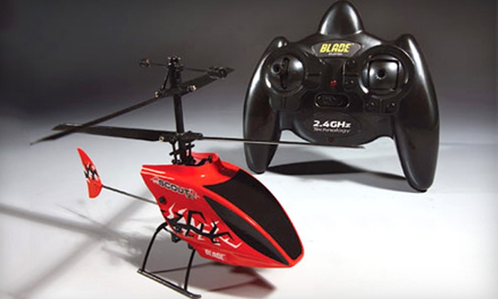 RC Hobby Shop - Sugar Land: $10 for $20 Worth of Toys or $30 for a Blade Scout RC Helicopter at RC Hobby Shop in Sugar Land