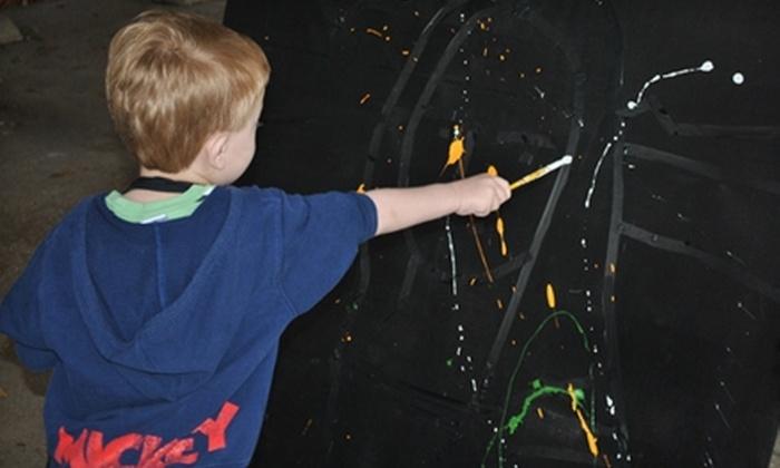 Van Grow: Art Studio for Kids - Fort Worth: $15 for a Two-Hour Children's Art Class at Van Grow: Art Studio for Kids ($30 Value)