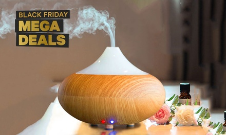 Ultrasonic Aroma Diffuser with Colour-Changing LED: One ($24) or Two ($39.95)