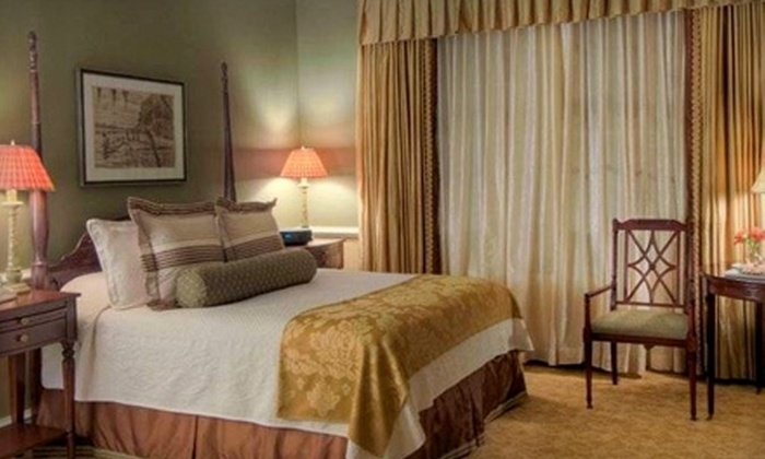 Woodland's Inn - Summerville: $210 for One-Night Stay, Bottle of Champagne, and Breakfast for Two (Up to $430 Value) at Woodlands Inn in Summerville