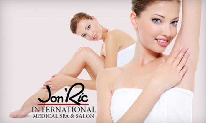 Jon'Ric International Medical Spa & Salon - Edmond: $79 for a HydraFacial or $149 for Four VelaShape Treatments at Jon'Ric International Medical Spa & Salon