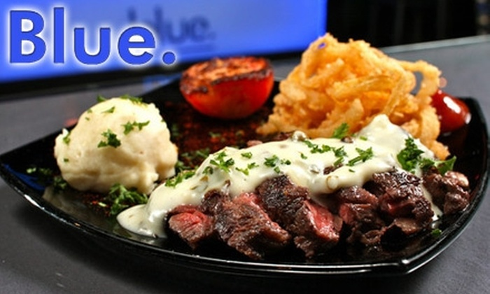 Blue Tapas Bar - The Congaree Vista: $20 for $40 Worth of Fare and Drink at Blue Tapas Bar
