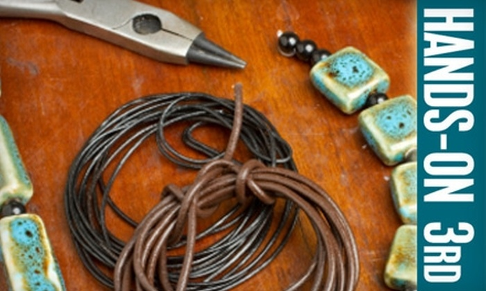 Hands-on 3rd - Mid-City West: $45 for a 2.5-Hour Craft Crash Course for Two at Hands-On 3rd