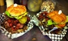 Up to 62% Off Burger Meal for Two at The Bucket