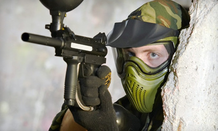 BattlegroundZ - Boston: Paintball Outing for Two, Four, Six, or Eight at BattlegroundZ in Attleboro (Up to 70% Off)