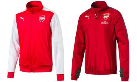 Sudadera abierta T7 o Stadium Arsenal FC Fútbol Club para hombre