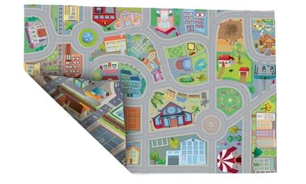 Tapete de juego reversible de fieltro 2 en 1 House of Kids