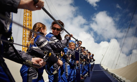 Up at The O2: Climb Experience with Summit Guide plus £5 Groupon Credit (25% Off)