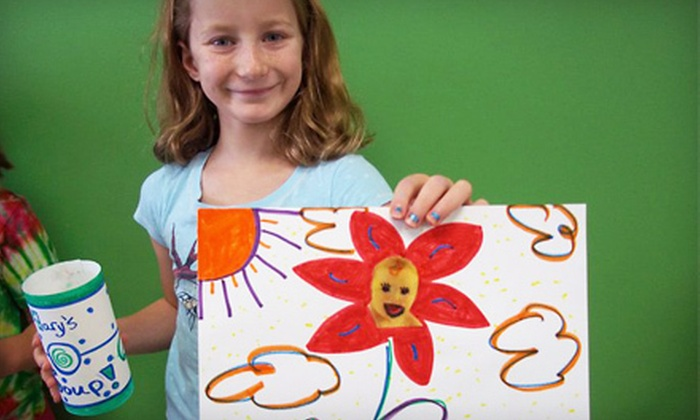 Noah's Art - Springfield: Four Weeks of Art Classes for Kids Aged 2–11 (Up to 52% Off). Three Options Available.