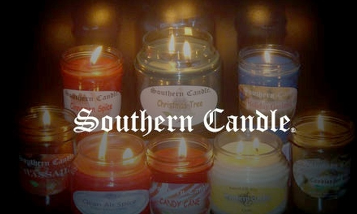 Southern Candle - Multiple Locations: $10 for $25 Worth of Candles and More Purchased In-Store or $20 for $40 Worth of Candles and More Purchased Online at Southern Candle