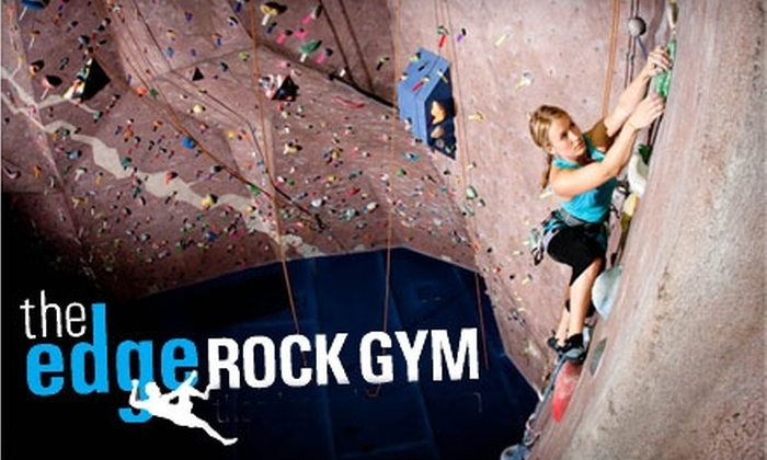The Edge Rock Gym - Spring Park: $12 for an Introductory Package at The Edge Rock Gym ($25 Value)