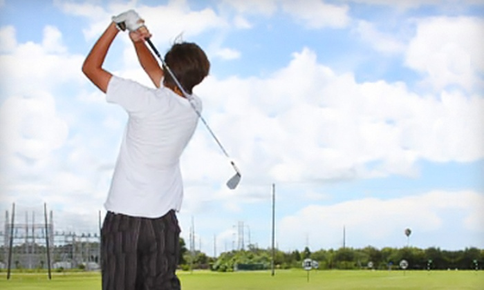 Missing Links Driving Range - Largo: $25 for $50 Worth of All-Access Golf Privileges from Missing Links Driving Range in Largo