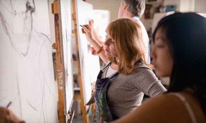 Art Exposure - Riverside: Beginner, Intermediate & Advanced Adult Art Classes or Children's Class at Art Exposure