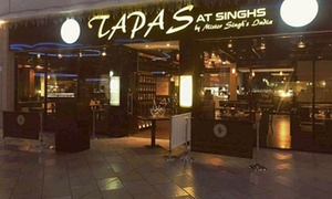 Tapas at Singh's: Tapas, Curry and Rice for Two or Four at Tapas at Singh's (45% Off)