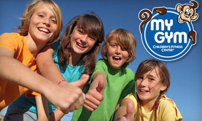My Gym Children's Fitness Center - Multiple Locations: $40 for a Lifetime Membership and One Month of Classes at My Gym Children's Fitness Center ($150 Value). Choose from Five Locations.