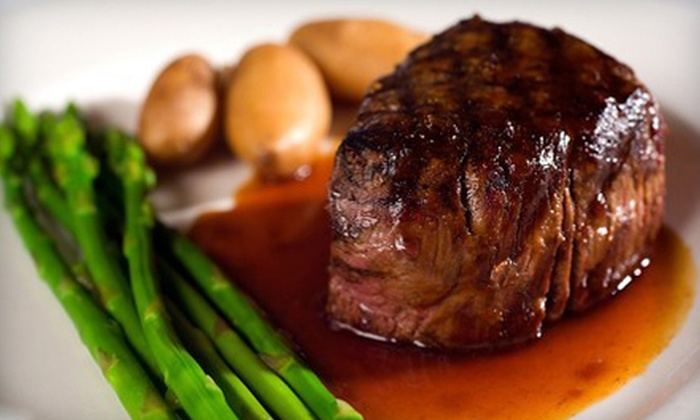 Georges on Fifth - Gaslamp: $25 for $50 Worth of Steak, Seafood, and Wine at Georges on Fifth