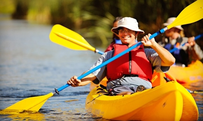 Cimarron River Company - Central Scottsdale: Kayaking Tours with Cimarron River Company. Two Options Available.