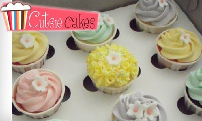 CutsieCakes - Layton: $10 for $20 Worth of Cupcakes, Treats, and More at One of Two CutsieCakes Locations