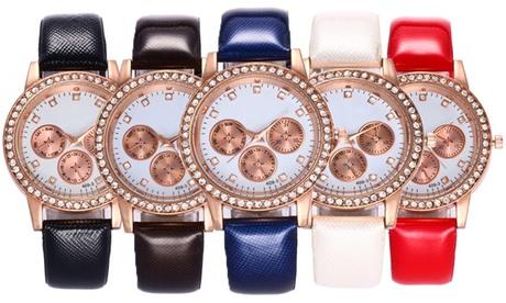 Reloj Harley decorados con cristales de Swarovski®