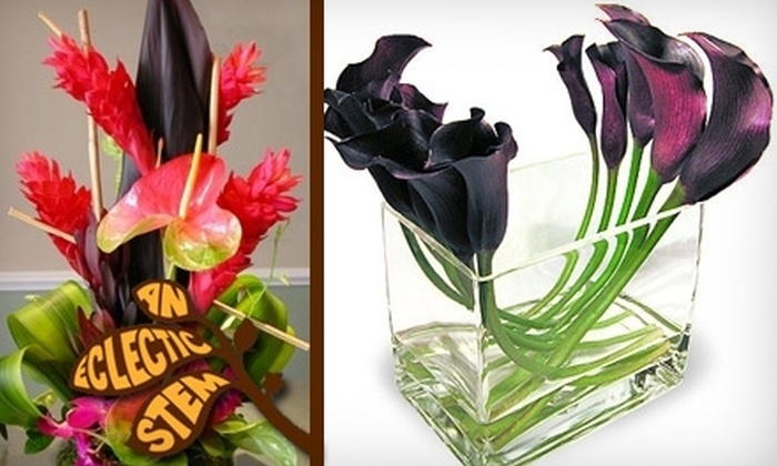 An Eclectic Stem - Old Westport: $35 for $75 Worth of Floral Arrangements at An Eclectic Stem