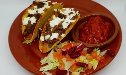 Menú degustación de tacos para 2 con entrantes, tacos, postres, bebida y chupito desde 19,95 € en Cantina Cachorro