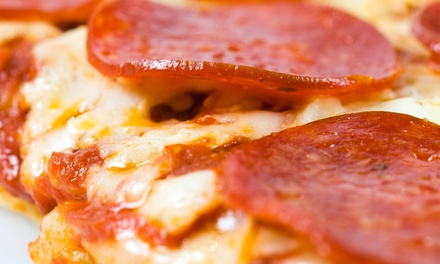 Pizza and Italian Food at Toarmina's Pizza (40% Off). Two Options Available.