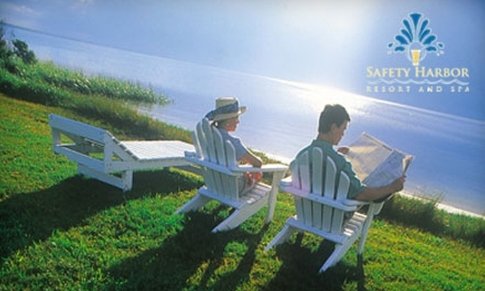 Safety Harbor Resort and Spa - Safety Harbor: $245 for a Three-Day/Two-Night Resort Stay, Two 25-Minute Spa Services, and Dining for Two at Safety Harbor Resort and Spa (Up to $501 Value)