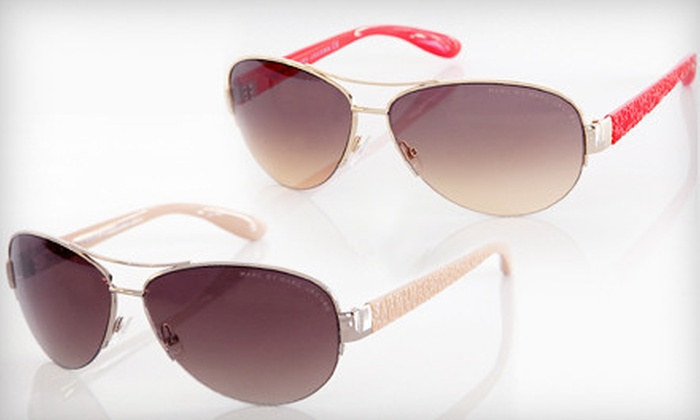 Marc by Marc Jacobs Sunglasses: $49 for Marc by Marc Jacobs Unisex Sunglasses (Up to $110.95 List Price). Nine Options Available. Free Shipping.