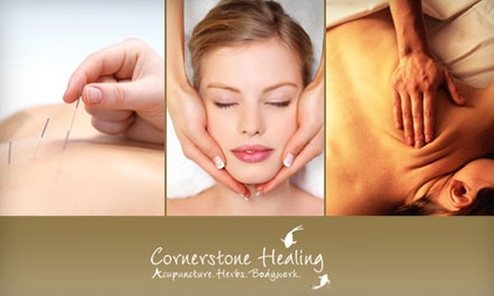 Cornerstone Healing - New York City: Anti-Aging Facial or One-Hour Massage at Cornerstone Healing. Choose Between Two Options.