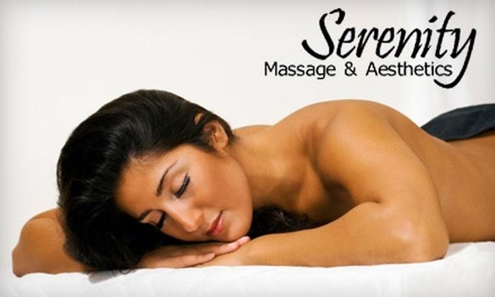 Serenity Massage & Aesthetics - Rockford: $40 for 60-Minute Aromatherapy Massage at Serenity Massage & Aesthetics ($80 Value)