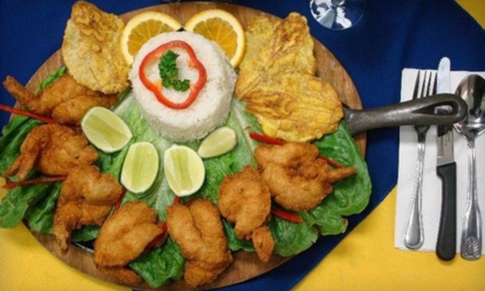 Cacerolas Restaurant - Woodside: $20 for $40 Worth of Traditional Colombian Fare at Cacerolas Restaurant in Woodside