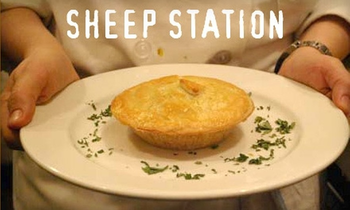 Sheep Station - Park Slope: $15 for $30 Worth of Australian Fare at Sheep Station